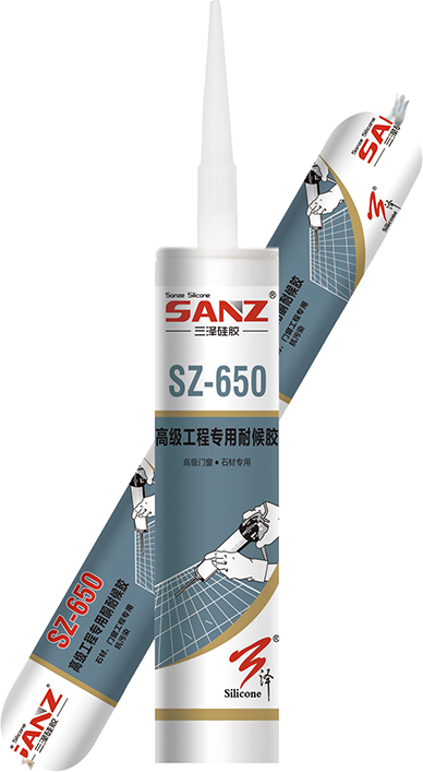 SZ-650Advanced engineering weatherproof silicone sealant